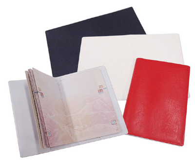 Wholesale customized PVC passport holder as corporate gifts