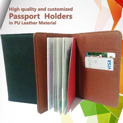 Customized passport holders are ideal door gifts in Singapore for your events