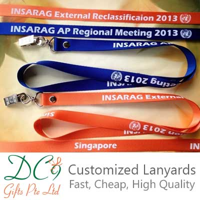 Fast delivery, Economical, and High Quality Lanyards Supplier in Singapore