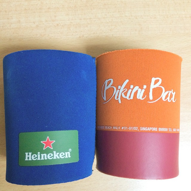 Singapore promotional gifts supplier for beer cooler jackets