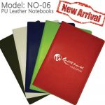 NO-06: Ready Stock PU leather notebook