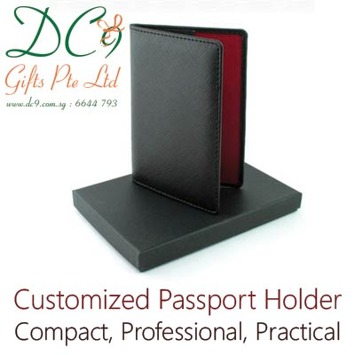 DC9 Gifts Pte Ltd customized passport holder supplier in Singapore – professional, compact and practical corporate gifts