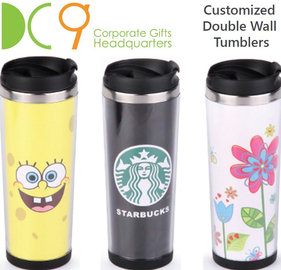 Customized double wall tumblers supplier in Singapore