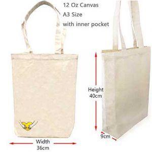canvas bags with inner pockets