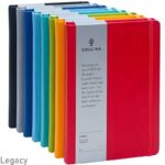 NO-14: Collins Legacy A5 Size PU Leather Notebooks
